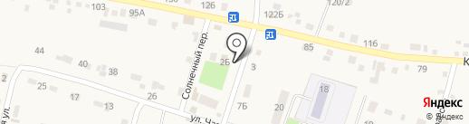 Зеленоглазое такси на карте Хомутово