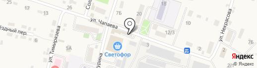 Магазин запчастей для тракторов на карте Хомутово