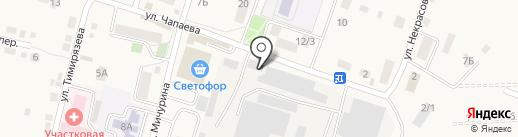 Столярная мастерская на карте Хомутово