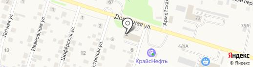 ВАША МЕБЕЛЬ на карте Дзержинска