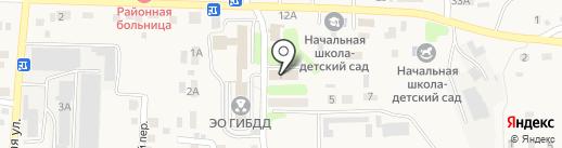 Центральная районная больница Иркутского района на карте Дзержинска