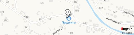 На Луговой на карте Куды