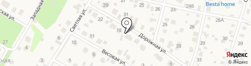 Лунный Мишка на карте Новой Разводной