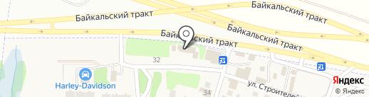 Магазин автопленок на карте Новой Разводной