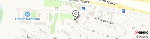 ЕВРОСПЕЦ на карте Новой Разводной