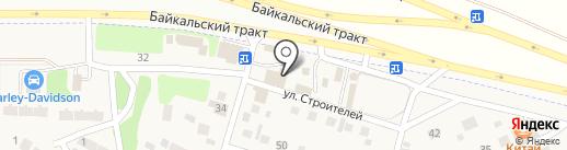 Автомастерская на карте Новой Разводной