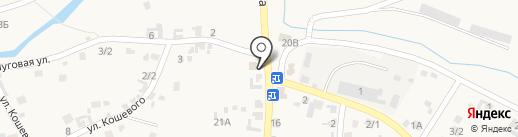 Продовольственный магазин на карте Куды