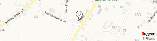 КасКад на карте Хомутово