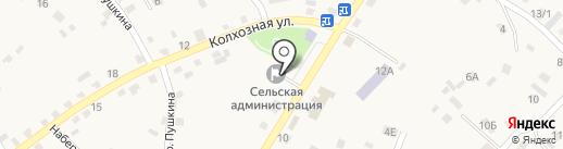Администрация с. Хомутово на карте Хомутово