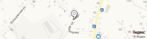 Продуктовый магазин на карте Хомутово