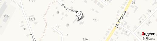 Юнипринт на карте Хомутово