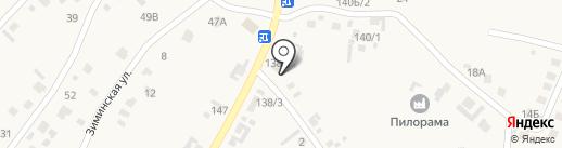 Березка на карте Хомутово