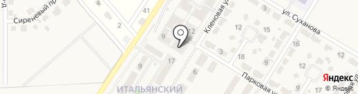 Байкальский Форт на карте Новолисихи