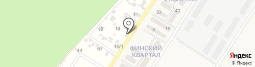 Иркутский научно-исследовательский институт сельского хозяйства, ФГБНУ на карте Новолисихи