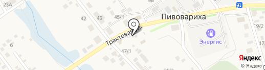 Магазин разливных напитков на карте Пивоварихи