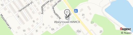 НИИСХ на карте Пивоварихи