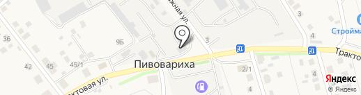 ЮКОС на карте Пивоварихи