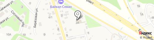 НОЭЛЬ на карте Новолисихи