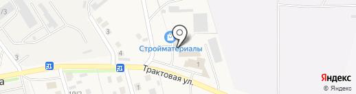 Автосервис на Трактовой на карте Пивоварихи