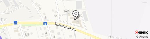 Автомойка на Трактовой на карте Пивоварихи