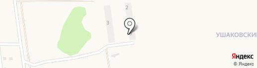 Строящийся коттеджный поселок на карте Пивоварихи