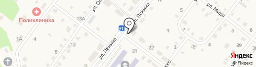 Администрация Большереченского муниципального образования на карте Большой Речки
