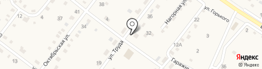 Магазин №6 на карте Большой Речки