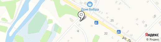 Магазин разливных напитков на карте Большой Речки