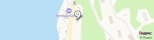 Хмельная лавка на карте Листвянки