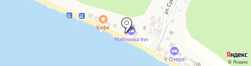 Алания на карте Листвянки