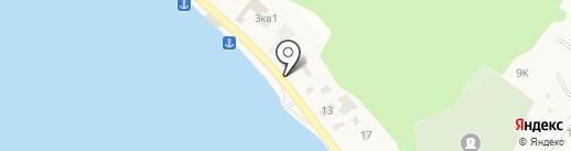 Ника на карте Листвянки