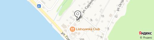 Усадьба Демидова на карте Листвянки