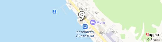 Туристический информационный центр на карте Листвянки