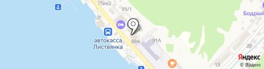 Дом культуры на карте Листвянки