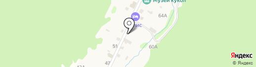 Elis на карте Листвянки