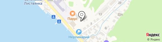 Berloga на карте Листвянки