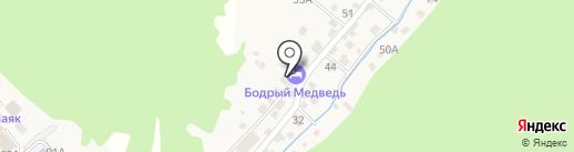 Лоцман на карте Листвянки