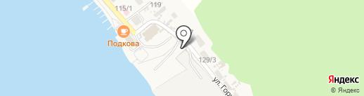 Автостоянка на карте Листвянки