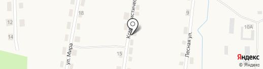 Магазин смешанных товаров на карте Горячего Ключа