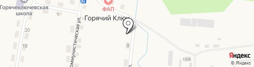Статус на карте Горячего Ключа
