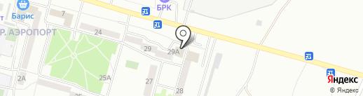 Копеечка на карте Улан-Удэ