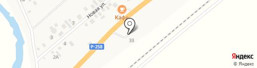 АЗС на карте Вознесеновки