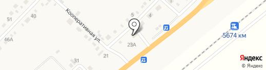 Алёна на карте Вознесеновки