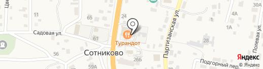 Турандот на карте Сотниково