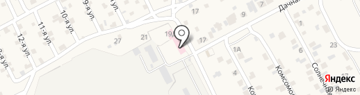 Скорая медицинская помощь на карте Сотниково