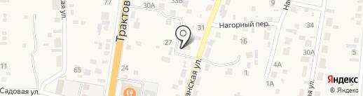 Меридиан, НП на карте Сотниково