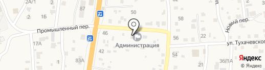 Почтовое отделение на карте Сотниково