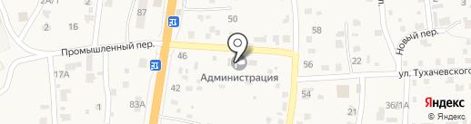 Участковый пункт полиции на карте Сотниково