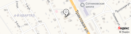 Иволкон на карте Сотниково