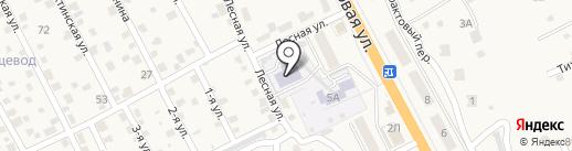 Рябинка на карте Сотниково